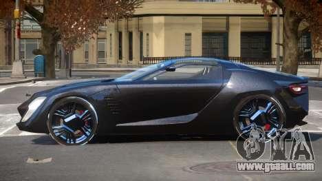 Bertone Mantide ST for GTA 4