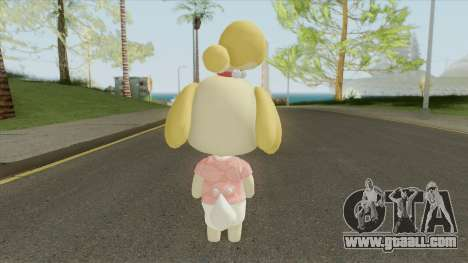 Isabelle (New Horizons) for GTA San Andreas