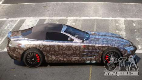 Mercedes-Benz SLR RTF PJ3 for GTA 4