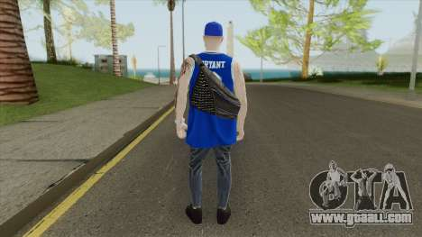 Random Male V2 (Los Angeles Lakers) for GTA San Andreas