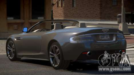Aston Martin DBS Volante PJ1 for GTA 4