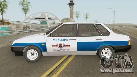 VAZ 21099 (Municipal Police) for GTA San Andreas
