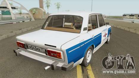 VAZ 2106 (Municipal Police) for GTA San Andreas