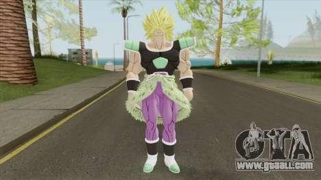 Broly V3 (Dragon Ball Super) for GTA San Andreas