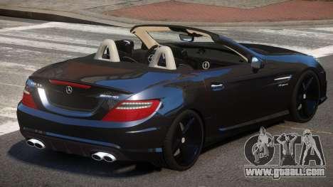 Mercedes Benz SLK DDS for GTA 4