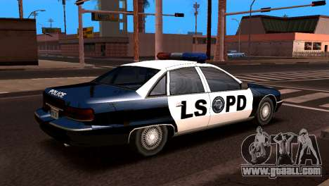 Chevrolet Caprice 1993 LSPD SA Style for GTA San Andreas