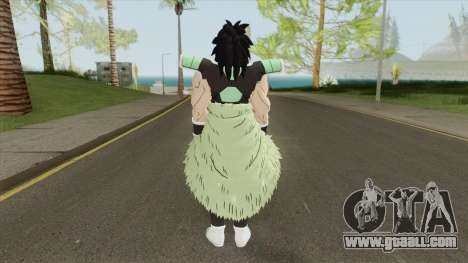 Broly V1 (Dragon Ball Super) for GTA San Andreas