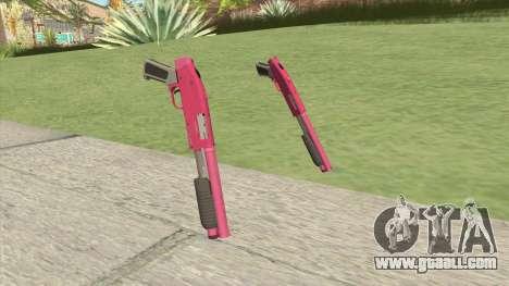 Sawed-Off Shotgun GTA V (Pink) for GTA San Andreas