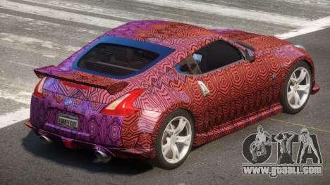 Nissan 370Z SR PJ5 for GTA 4