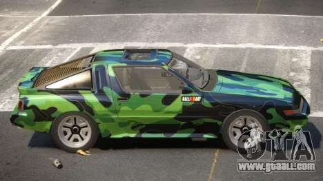 Mitsubishi Starion SR PJ3 for GTA 4