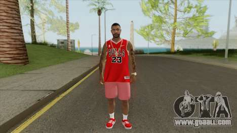 Random Male V1 (Chicago Bulls) for GTA San Andreas