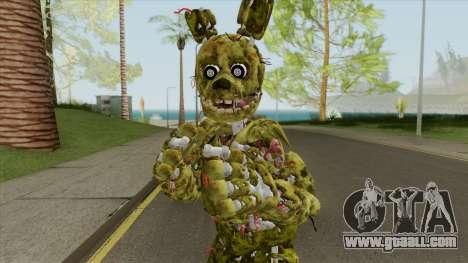 Springtrap (FNAF AR: Especial Delivery) for GTA San Andreas