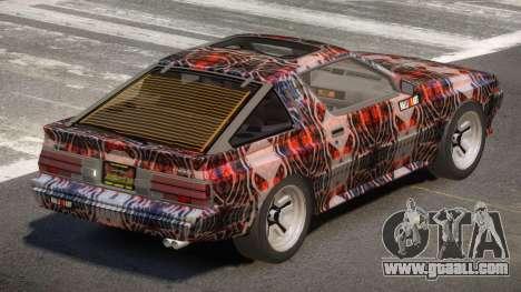 Mitsubishi Starion SR PJ2 for GTA 4