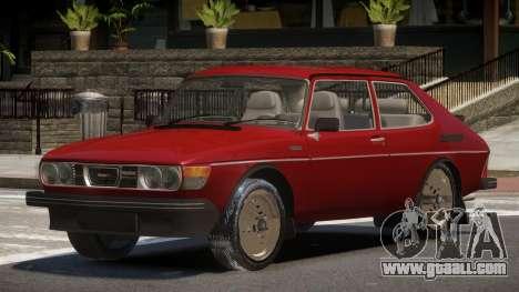 1980 Saab 99 Turbo for GTA 4