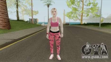 Random Female Skin V4 (Sport Gym) for GTA San Andreas
