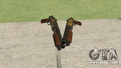 Sawed-Off Shotgun GTA V (Luxury) for GTA San Andreas