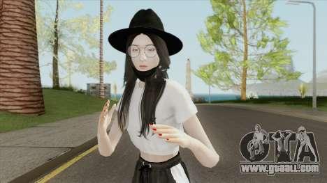 Kim Jisoo (BLACKPINK) for GTA San Andreas