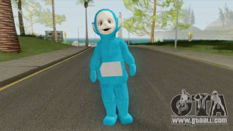 Blue Worker (Slendytubbies 3) for GTA San Andreas
