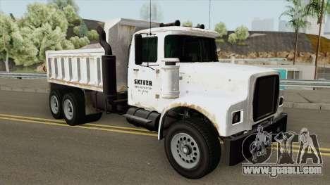 Brute Tipper (II) GTA V for GTA San Andreas