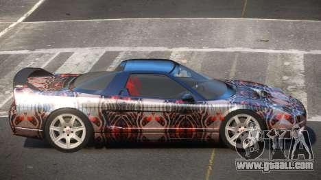 Honda NSX-R LT PJ2 for GTA 4