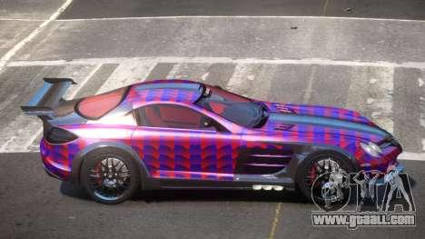 Mercedes Benz SLR H-Style PJ2 for GTA 4
