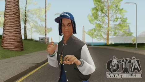 Crips Gang Member V3 for GTA San Andreas