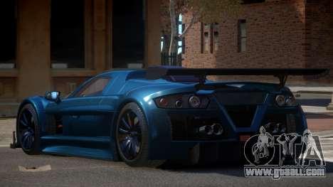 Gumpert Apollo R-Style for GTA 4