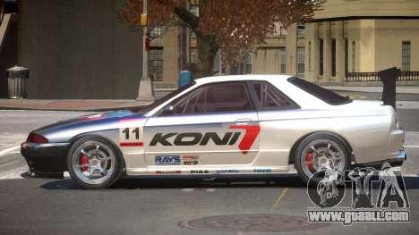 Nissan Skyline R32 D-Style PJ3 for GTA 4