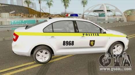 Skoda Rapid (Politia Republica Moldova) 2016 for GTA San Andreas