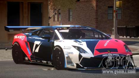 Lamborghini Gallardo LP560 SR PJ5 for GTA 4