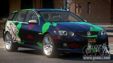 Holden VE Commodore RT PJ5 for GTA 4