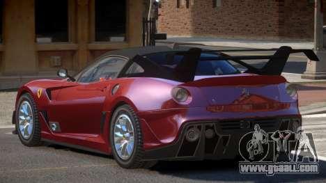 Ferrari 599XX R-Tuning for GTA 4