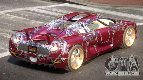 Koenigsegg CCRT Sport PJ5 for GTA 4