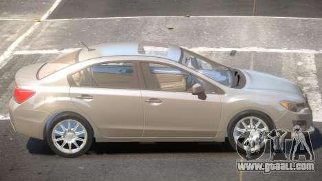 Subaru Impreza SN28 for GTA 4