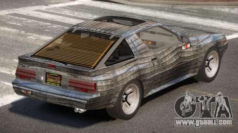 Mitsubishi Starion SR PJ6 for GTA 4
