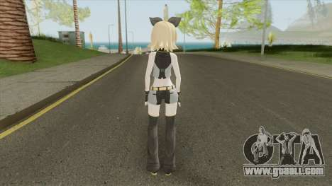 Kagamine Rin (Black Star Module) for GTA San Andreas