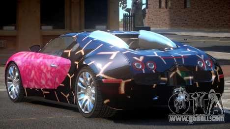 Bugatti Veyron 16.4 RT PJ3 for GTA 4