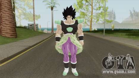 Broly V2 (Dragon Ball Super) for GTA San Andreas