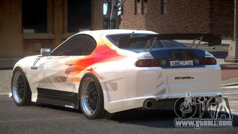 Toyota Supra SR PJ5 for GTA 4