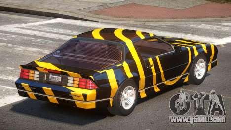 Chevrolet Camaro IR PJ3 for GTA 4