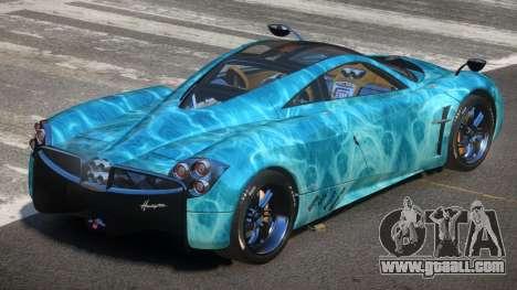 Pagani Huayra R-Tuned PJ1 for GTA 4