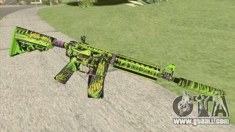 M4A4 Toxicator (CS:GO) for GTA San Andreas