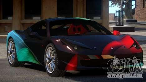Ferrari 458 Qz PJ5 for GTA 4