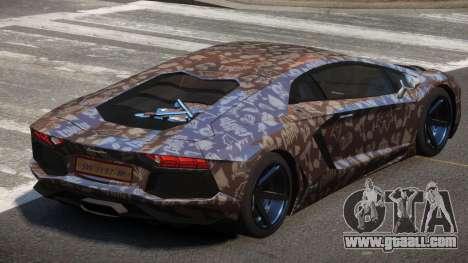 Lamborghini Aventador S-Style PJ3 for GTA 4