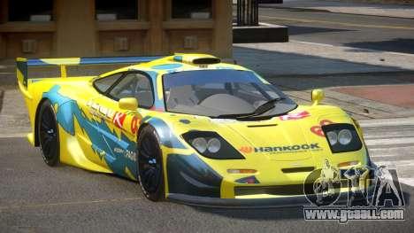 McLaren F1 G-Style PJ1 for GTA 4