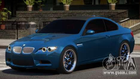 BMW M3 E92 RGB86 for GTA 4