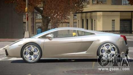 Lamborghini Gallardo TI for GTA 4