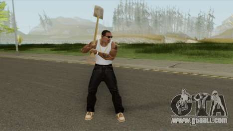 Shovel (GTA SA Cutscene) for GTA San Andreas