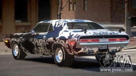 1972 Dodge Challenger RT PJ6 for GTA 4