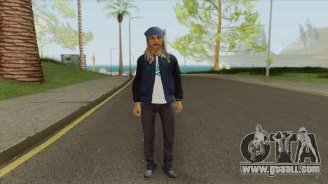 Crips Gang Member V5 for GTA San Andreas